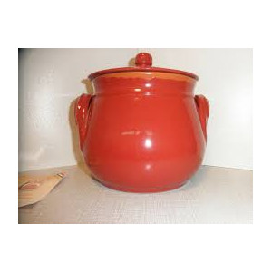Italiensk terracotta rød