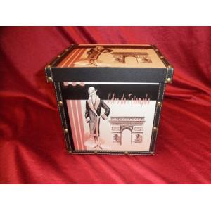 Kasse med låg høj 31,5 cm